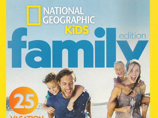 National Geographic Kids Family Edition spring 2018